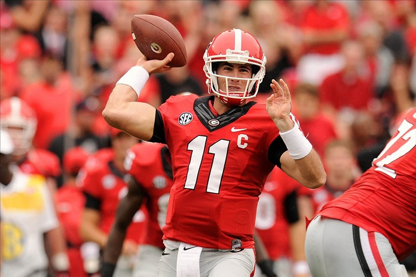 2014 Nfl Draft Scouting Report Aaron Murray Qb Georgia