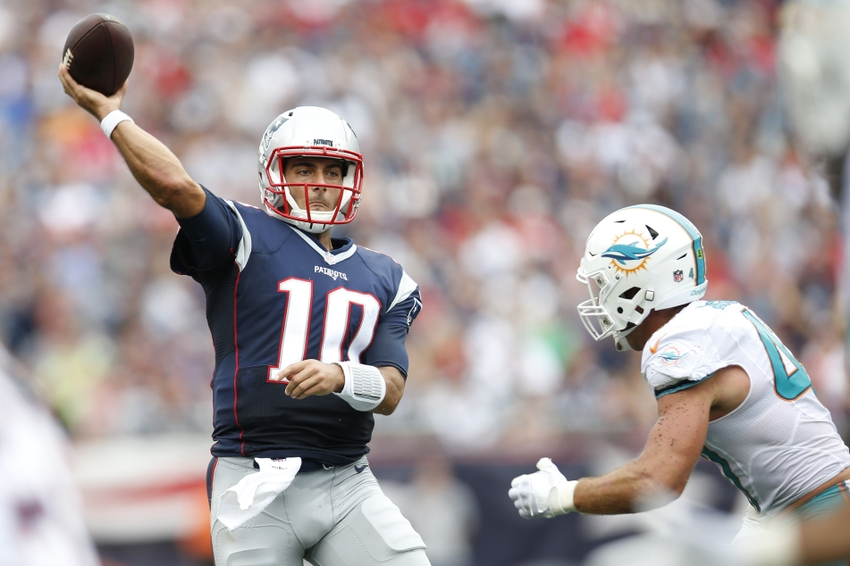 Using the 2017 NFL Draft to fix the Cleveland Browns - Page 3Jimmy Garoppolo Patriots