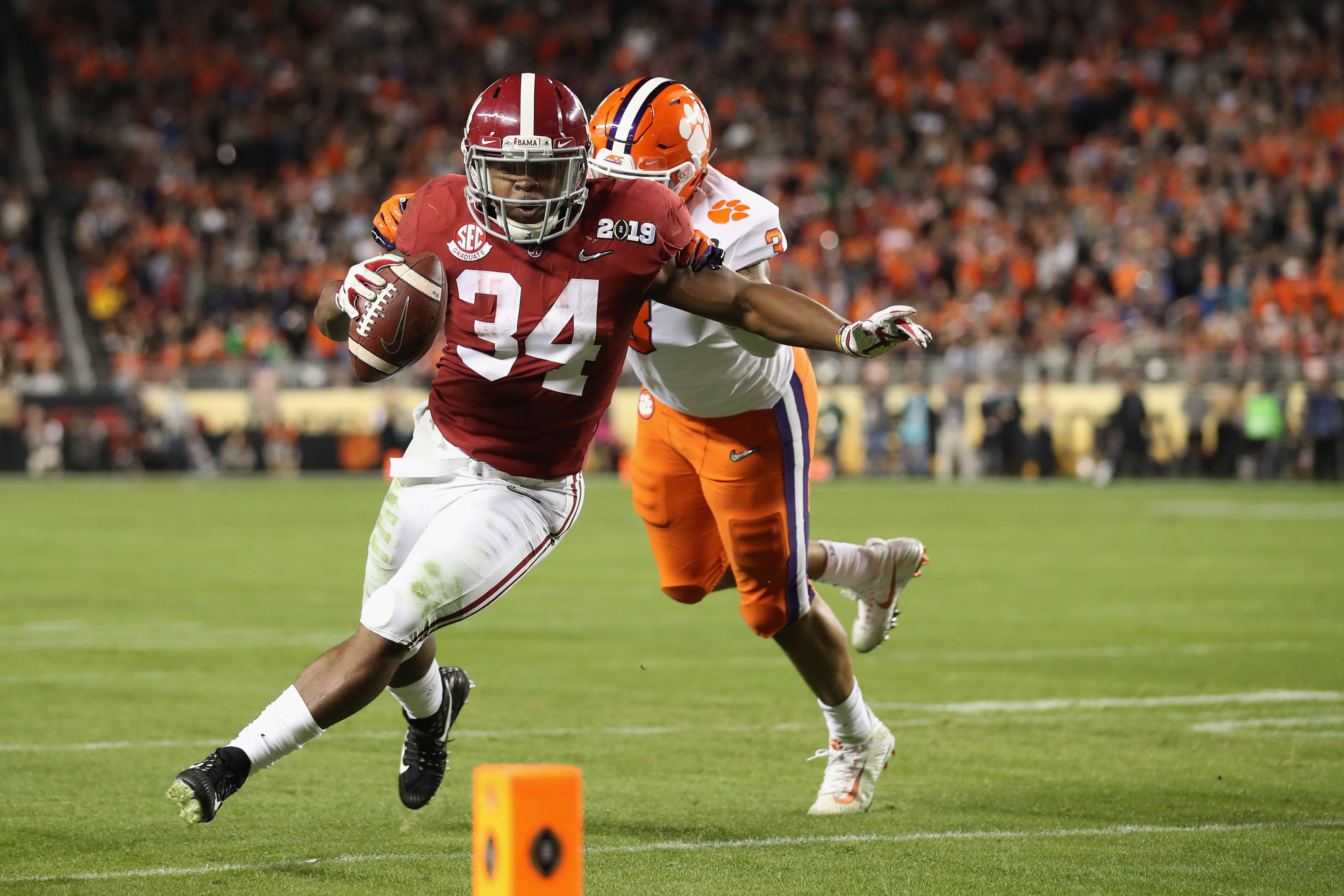 Fantasy Football Damien Harris Deemed Flex Player By Espn